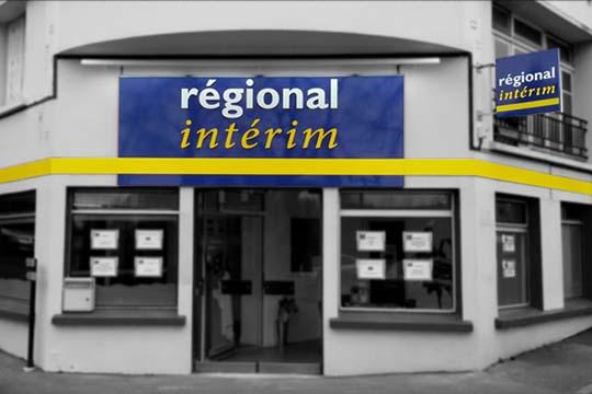 Régional-Intérim-enseigne-dibond-chateauneuf-du-faou