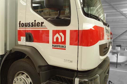 Foussier - décor véhicule - Agraph Publicité - agence publicitaire - Melesse (35)