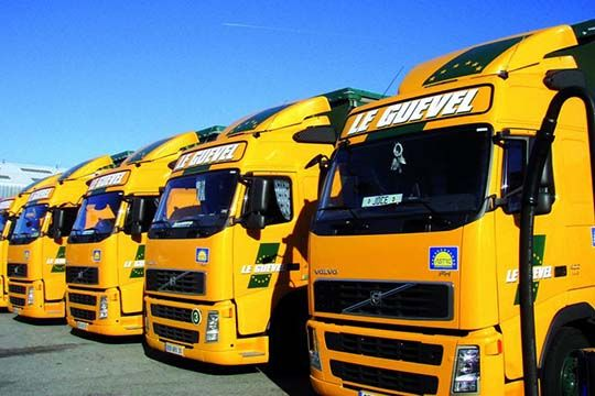 Le Guevel - décor camion - Agraph Publicité - agence publicitaire - Melesse (35)