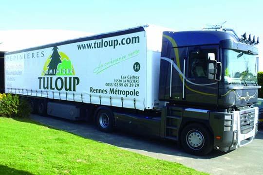 Tuloup - décor camion - Agraph Publicité - agence publicitaire - Melesse (35)