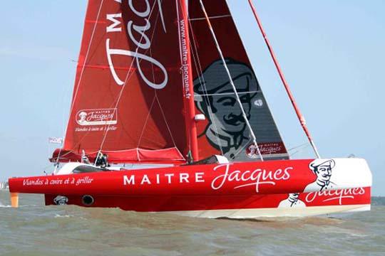 Maître Jacques - marquage voilier - Agraph Publicité - agence publicitaire - Melesse (35)