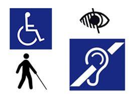 Signalétiques destinées aux Personnes à Mobilité Réduite - Agraph Publicité - agence publicitaire - Melesse (35)