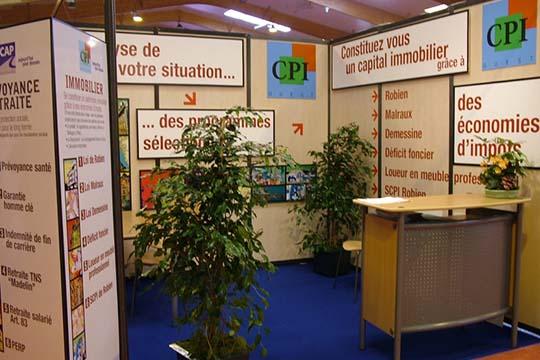 CPI - stand - Agraph Publicité - agence publicitaire - Melesse (35)