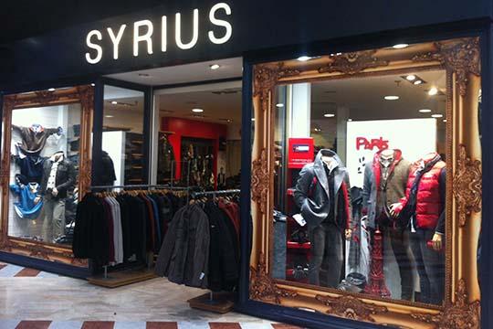 Syrius - décor impression magasin - Agraph Publicité - agence publicitaire - Melesse (35)